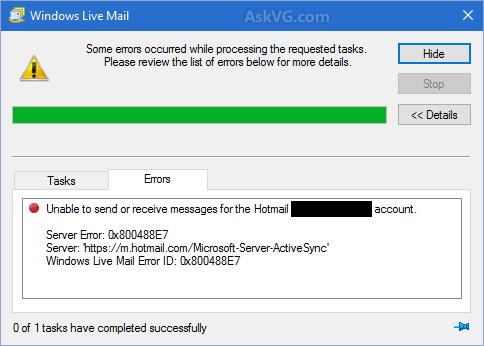 Windows_Live_Mail_Account_Sync_Error