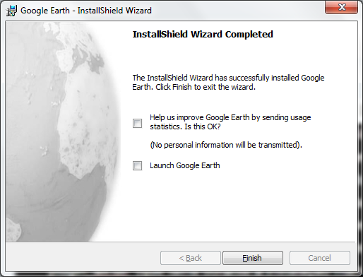 UI Google Earth MSI