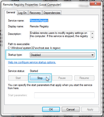 disable-service3