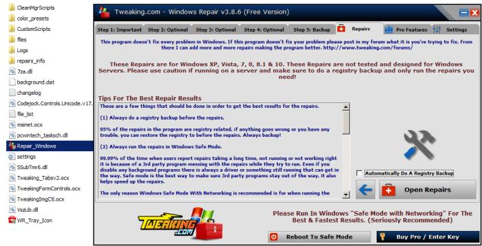 Windows_Repair_Open_Repairs